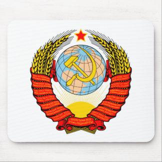 Soviet Union National Emblem Mouse Pad