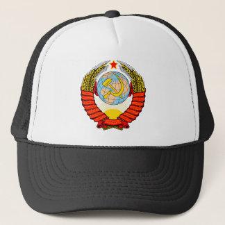 Soviet Union National Emblem Trucker Hat