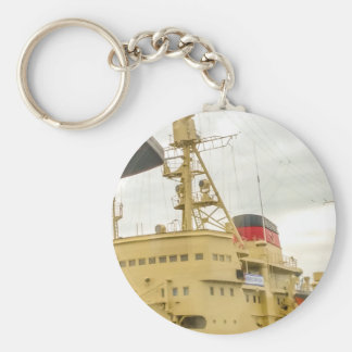 Soviet Union Ship Museum Keychain