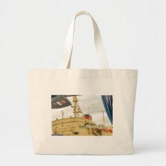 Soviet Union Ship Museum Large Tote Bag