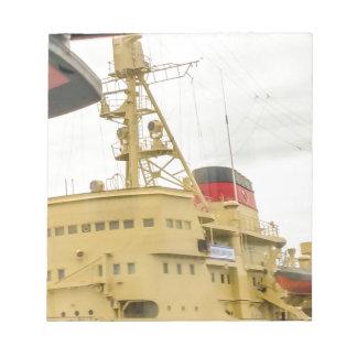 Soviet Union Ship Museum Notepad