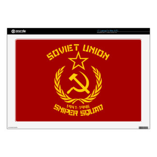 "Soviet Union Sniper Squad 17"" Laptop Skins"