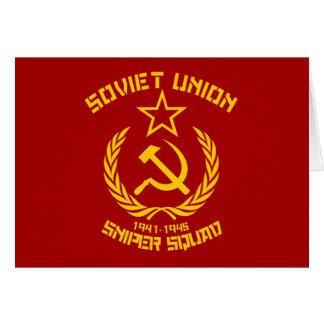 Soviet Union Sniper Squad Card