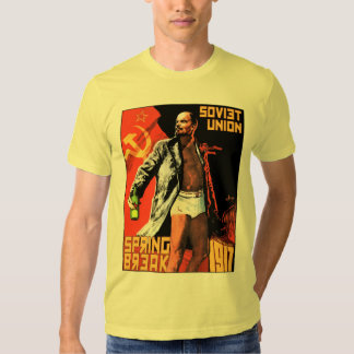Soviet Union Spring Break 1917 T-Shirt