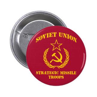 Soviet Union Strategic Missile Troops Button