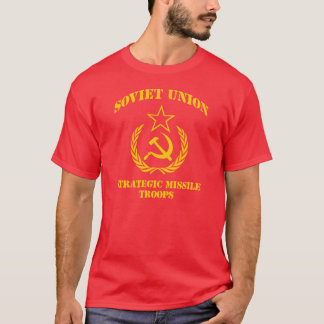 Soviet Union Strategic Missile Troops T-Shirt