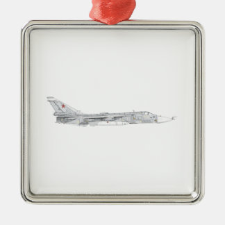 Soviet Union Sukhoi Su-24 aircraft Metal Ornament