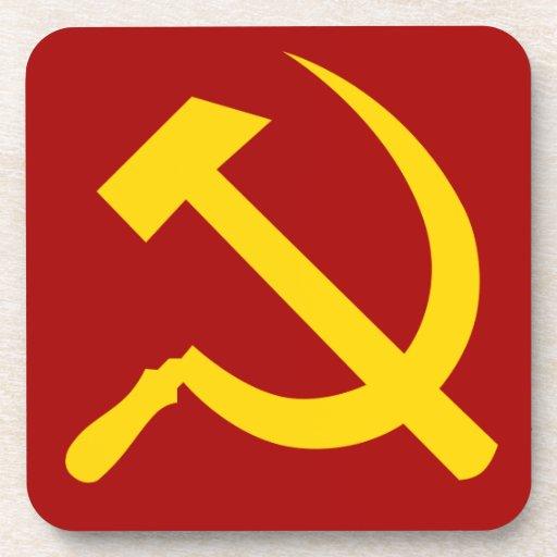 Soviet Union Symbol - Советский Союз Символ Coasters | Zazzle
