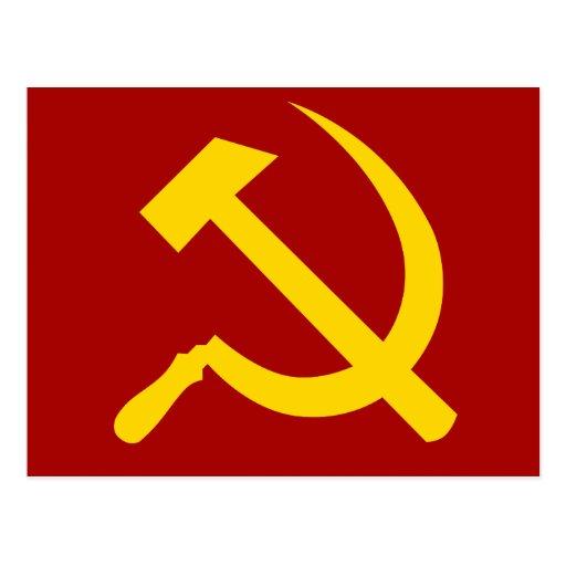 Soviet Union Symbol - Советский Союз Символ Postcard | Zazzle