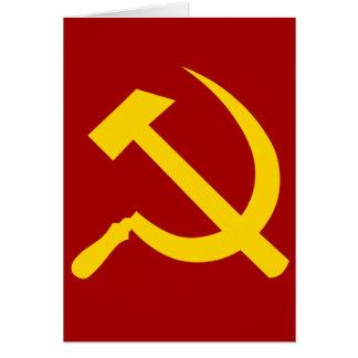 Soviet Union Symbol - Советский Союз Символ Card