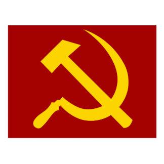 Soviet Union Symbol - Советский Союз Символ Postcard