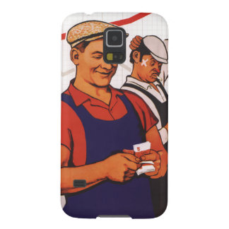 Soviet Worker Case For Galaxy S5