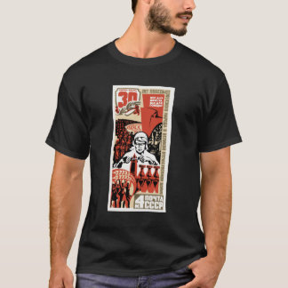 Soviet WWII Commemorative Stamp T Shirt