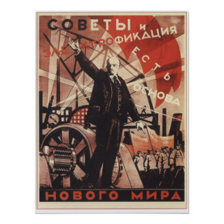 Soviets and Electricity Posters