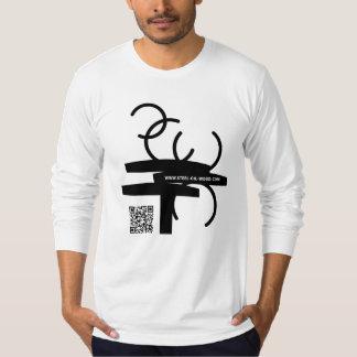 SOW Broken Lines QR Code Long sleeve T Shirt