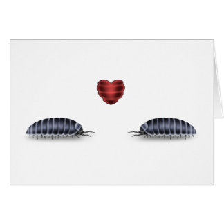 Sow Bug Luv (Lets Roll Togeather) Card
