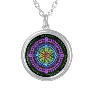 Sow Rainbows Flower Mandala Necklace