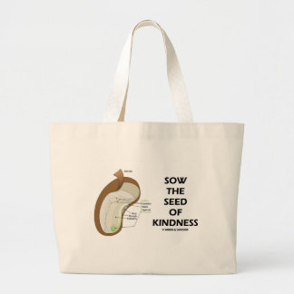 Sow The Seed Of Kindness (Seed Anatomy Humor) Bags