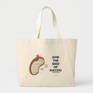 Sow The Seed Of Success (Seed Anatomy Humor) Bags
