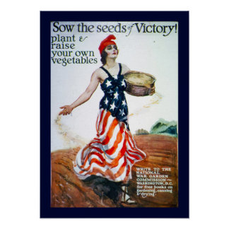 Sow the Seeds of Victory Poster