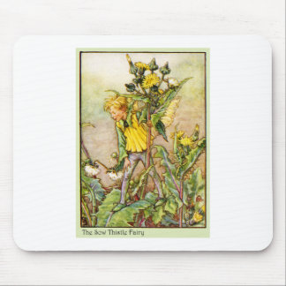 SOW THISTLE FAIRY MOUSE PAD
