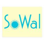 SoWal el condado de Walton del sur con Sun Tarjeta Postal