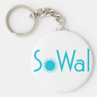 SoWal South Walton County with Sun Keychain