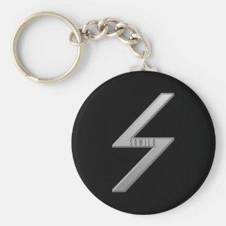 Sowilo Rune grey Keychain