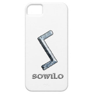 Sowilo rune symbol iPhone 5 cover