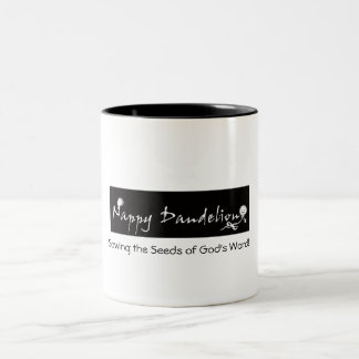 Sowing Seeds of God's Word Two-Tone Coffee Mug