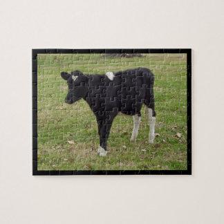 Sox - A Black and Calf - Puzzle