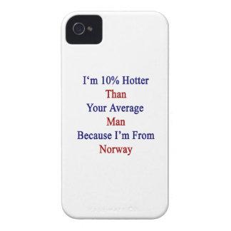 Soy 10 más calientes que su hombre medio porque iPhone 4 carcasa