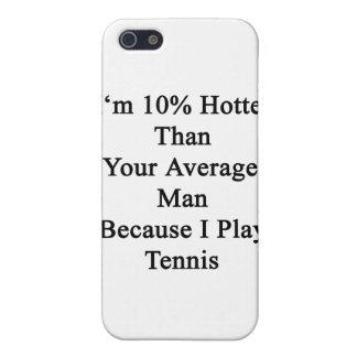 Soy 10 más calientes que su hombre medio porque iPhone 5 carcasas