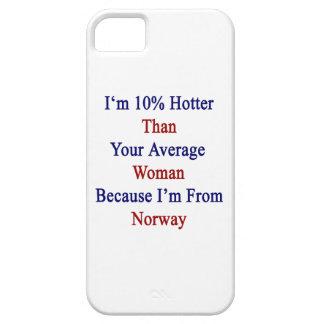 Soy 10 más calientes que su mujer media porque soy iPhone 5 Case-Mate coberturas