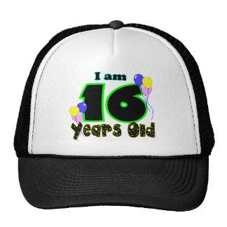 Soy 16 años del gorra