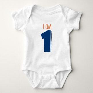 """""""Soy 1"""" 1r cumpleaños Camisas"""
