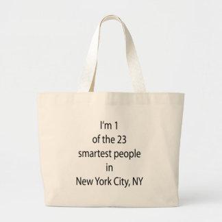 Soy 1 de la 23 gente más elegante de nuevo su ciud bolsas lienzo