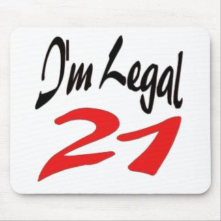 Soy 21 legales alfombrillas de ratón