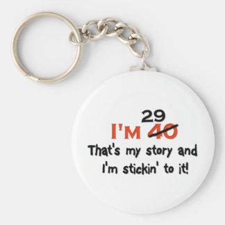 ¡Soy 29 que es mi historia! Llaveros Personalizados