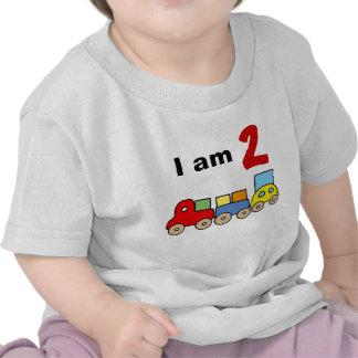 Soy 2 (el tren de madera del juguete) camiseta