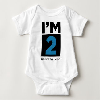 Soy 2 meses azules playera