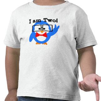 ¡Soy 2! ¡Soy dos! camisa del cumpleaños del niño