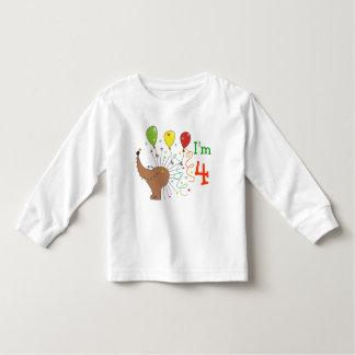 Soy 4 erizos y camisas lindos de los niños del