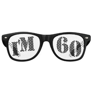 Soy 60 - 60.o regalo de la mordaza de los vidrios lentes de sol
