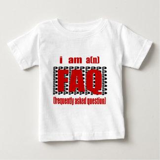 Soy A (n) FAQ, hecho con frecuencia la pregunta Camisas