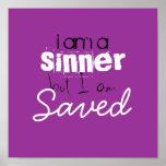 soy a, pero soy, ahorrado, pecador posters