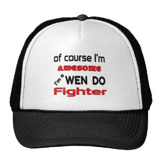 Soy a Wen-Hago combatiente Gorro De Camionero