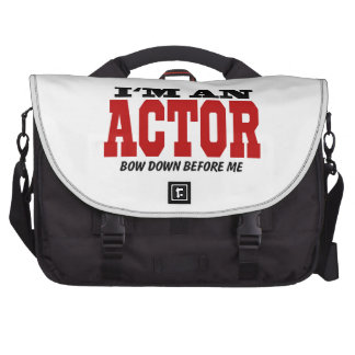 Soy actor arqueo abajo antes de mí bolsas para portátil
