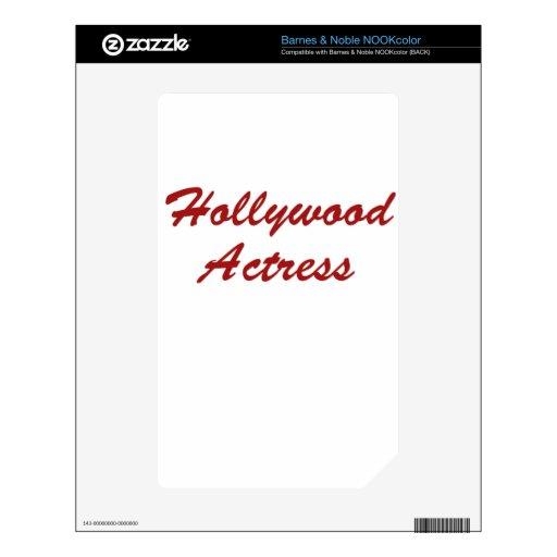 Soy actriz de Hollywood Skins Para NOOK Color