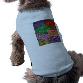 Soy afirmaciones camisetas mascota
